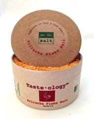 Taste·ology™ - Sriracha Infused Sea Salt (retail packaging) by go lb. salt ® - store.golbsalt.com