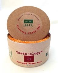 Taste·ology™ - Sriracha Infused Sea Salt (retail packaging) by go lb. salt ® - store.golbsalt.com