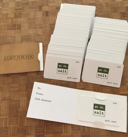 Gift Card by go lb. salt ® - store.golbsalt.com (retail image)
