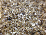 Taste·ology™ - Alder Smoked Sea Salt (macro view) by go lb. salt ® - store.golbsalt.com