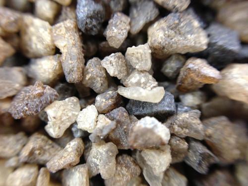 Taste·ology™ - Mesquite Smoked Sea Salt (macro view) by go lb. salt ® - store.golbsalt.com