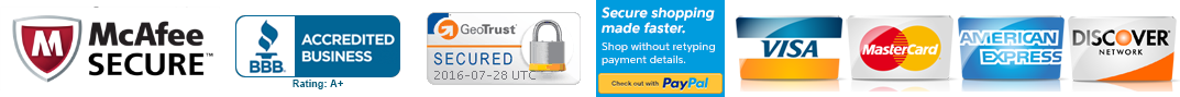 100% Trusted & Secure