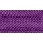 Griffin Silk Thread Amethyst Size 8 0.80mm 2 meter card (21820)