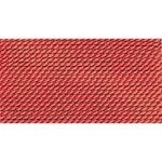 Griffin Silk Thread Coral Size 8 0.80mm 2 meter card