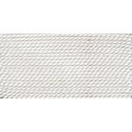 Griffin Silk Thread White Size 8 0.80mm 2 meter card