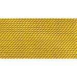 Griffin Silk Thread Amber Size 10 0.90mm 2 meter card (21832)