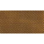 Griffin Silk Thread Brown Size 10 0.90mm 2 meter card (21837)