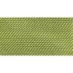 Griffin Silk Thread Jade Size 10 0.90mm 2 meter card (21842)