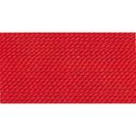 Griffin Silk Thread Red Size 10 0.90mm 2 meter card (21852)