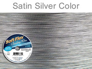 Soft Flex Beading Wire Clear Fine .014 Dia. 21 Strand 100 foot spool - each (6823)