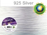Soft Flex Extreme Beading Wire Sterling Silver Fine/ .014 Dia. 19 Strand 30 foot spool - each (6892)