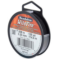 "WildFire 0.2mm (0.008"") Black 114m 12lb Test (4713)"