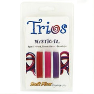 Soft Flex Trios Beading Wire Mystical Medium/ .019 dia. Spinel/ Pink Tourmaline/ Amethyst 3x10 foot pack - each (6911)