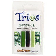 Soft Flex Trios Beading Wire Renewal Medium/ .019 dia. Peridot/ Emerald/ Chrysoprase 3x10 foot pack - each (6912)