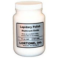 Lortone Aluminum Oxide Polishing Medium for Rotary Tumblers and Lapping – 12 oz 591-026