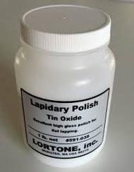 Lortone Tin Oxide Lapidary Polishing Medium 1 lb 591-038