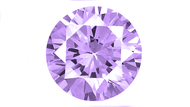 Cubic Zirconia Round Purple 4.5mm