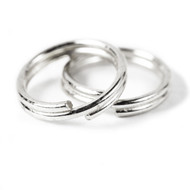 Split Ring - Silver Color 9mm CONTAINER