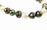 Tahitian Baroque Multi-coloured Pearls