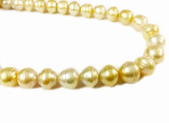 Tahitian Pearl -  Baroque Golden