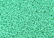 Miyuki Delica Seed Bead size 11/0 Robin Egg Blue Opaque Dyed Duracoat  DB 2122