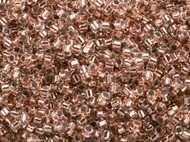 Miyuki Delica Seed Bead size 11/0  Copper Crystal Lined DB 0037