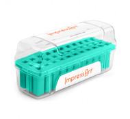 ImpressArt Teal 6mm Stamp Case Large - each