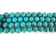 Sleeping Beauty Natural Reconstituted Turquoise 16mm - By The Strand