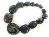Turquoise Graduated Irregular Nuggets -  By The Strand