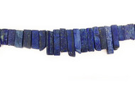 Lapis Bead Sticks Graduated - by the strand