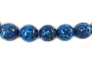 Blue Daisy Jasper Rounds 20mm - By The Strand