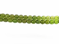 Baltic Amber Facetted 7.5mm-Green Color