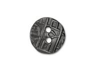 TierraCast Black Round Coin Button each