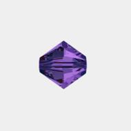 Swarovski  4mm Purple Velvet Bicone/Xilion 5328/5301 1440 PCS