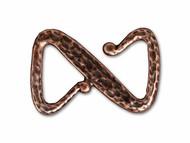 TierraCast Antique Copper Z Hook Clasp each