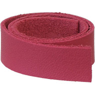 "TierraCast Leather 1/2""x10"" Strap Fuchia each"