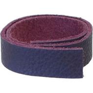 """TierraCast Leather 1/2""""x10"""" Strap Purple each"""