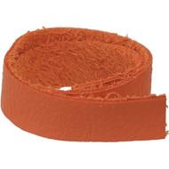 "TierraCast Leather 1/2""x10"" Strap Orange each"