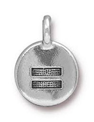 TierraCast Antique Silver Equality Charm each