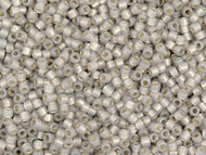 Miyuki Delica Seed Bead size 11/0 Light Taupe Opal Silver Lined DB 1456