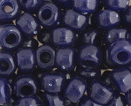 Crow Bead - Glass Opaque Navy Blue 9mm