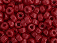 Crow Bead - Glass Opaque Red 6mm