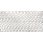 Griffin Silk Thread White Size 12 0.98mm 2 meter card