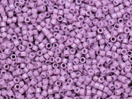 Miyuki Delica Seed Bead size 11/0 Lilac Opaque Dyed Duracoat DB 2136