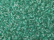 Miyuki Delica CUT Seed Bead size 11/0 Green Aqua Sparkle Crystal Lined DB 0918
