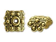 TierraCast Antique Gold Raja Bead Cap each