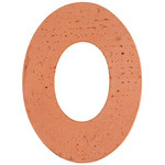 Metal Blank - Oval Washer   Copper 38mm 24ga (w/19mm hole) (32278)