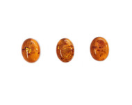 Amber Cabochon 16x12mm Oval - each