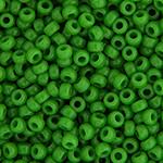 Miyuki Round Seed Bead Size 8/0 Green Pea Opaque SB 0411