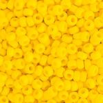 Miyuki Round Seed Bead Size 8/0 Yellow Opaque SB 0404